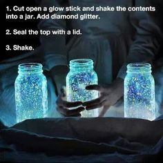 Diy lanterns how cool for camp site or wedding
