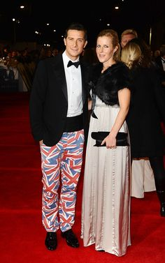 bear grylls at skyfall premiere.  the pants.