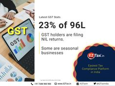 Interesting to deep dive in to GST Revenue & Return Statistics of the GST Holders are filing NIL Returns.in/gst > Easiest GST Accounting Software for SMEs. Online Income, Income Tax, Best Accounting Software, Capital Gain, Filing, Statistics, Cards Against Humanity, Deep, Business