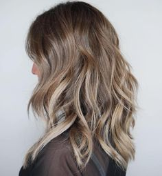 Dark Blonde Hair with Babylights
