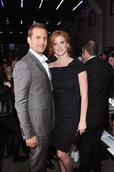 Gabriel Macht and Sarah Rafferty - so hot together