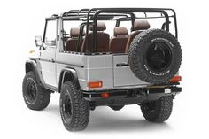 Build your own Mercedes Benz G-Class with us! Custom-built using the original body and chassis of a vintage Use our Wolf builder to create your own custom convertible G-Wagen. Mercedes G Wagen, Mercedes G500, Mercedes Benz Convertible, Mercedes G Class, Benz G Class, Jerry Can, Motor Company, G Wagon, Custom Cars