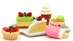 Dessert set of food for dolls