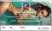 I chose this article and this image because it shows that many young girls find groups within the social media world that fuels their body obsessions that have been instilled from the media. This specific twitter page is dedicated to popular model Cara Delevigne and her thigh gap and demonstrates the lengths girls are willing to go to in order to perfect a certain part of their body.