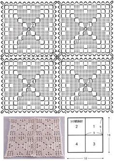 Transcendent Crochet a Solid Granny Square Ideas. Inconceivable Crochet a Solid Granny Square Ideas. Crochet Tablecloth Pattern, Crochet Mandala Pattern, Crochet Bedspread, Crochet Cushions, Granny Square Crochet Pattern, Crochet Blocks, Crochet Stitches Patterns, Crochet Squares, Crochet Granny