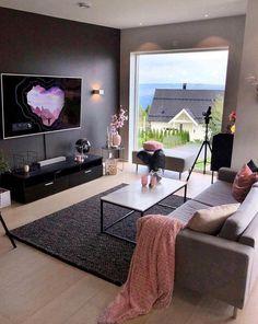 6 Small Living Room Design Tips and Ideas - Des Home Design Living Room Bedroom, Bedroom Decor, Indian Living Rooms, Apartment Living, Apartment Ideas, Living Room Designs, Living Room Decor Tumblr, Interior Design, Home Decor