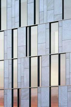 Marble facade
