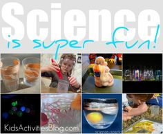 Silly Science- Science is super fun over at the Kids Activities Blog. Check out our super fun science projects and 199 from our friends!