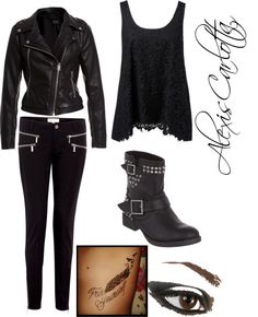 """Dauntless(Divergent) Inspired"" by alexiscarlotta on Polyvore"