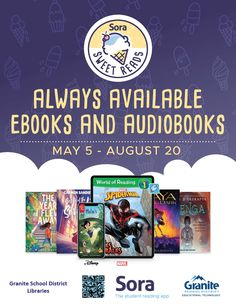 Library Posters, Student Reading, Disney Marvel, Educational Technology, Audiobooks, Graphics, School, Sweet, Summer