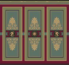 Renaissance Era Wallpaper Dado | Bradbury Victorian Interior Designs
