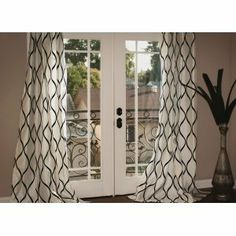 Simple yet ultra-sophisticated, this curtain panel provides the dep...