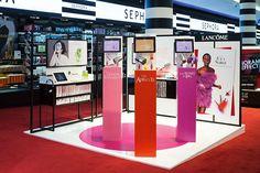 design-retail-podium-Lancôme-Juicy Shaker-Energie de vie-éphémère-cosmétique-make up-soin-launch-merchandising_By Leonard El Zein_01