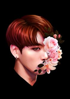 ♡ Mochi Jimin ♡, ❀       Flowers + Maknae Line  ❀  It's been a...
