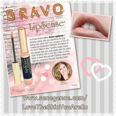 www.senegence.com/LoveTheSkinYouAreInIt's here! The new #LipSense shade has been unveiled and it's a pale pink called Bravo. Order yours today www.senegence.com/LoveTheSkinYouAreIn