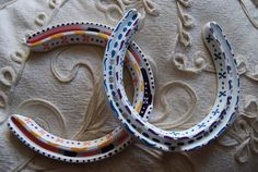 painted horseshoes - Google Search