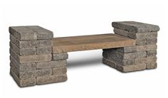 DIY outdoor bench idea for around the BBQ area
