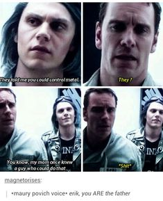 "Finally having watched all the x-men movies I will say in my best Captain America voice ""I understand that reference"" and really quicksilver, really?"