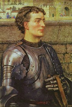 """Eleanor Fortescue Brickdale (1872-1945), """"A Knight in Armour"""""""