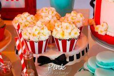 "Popcorn Cupcakes from a ""Ready To Pop"" Baby Shower via Kara's Party Ideas | KarasPartyIdeas.com (19)"
