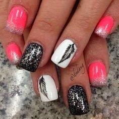 Summer Nails Art Idea