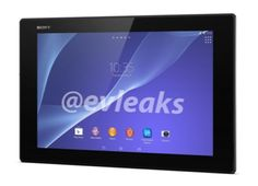 Sony Xperia Tablet tablet 2nd generation Z revealed