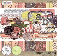 Digital Scrapbooking Download-A-Day Simply Splendid Kit Freebie March 1-15, 2012 - #digitalscrapbooking #dandeliondustdesigns #simplegirl