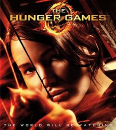 Jennifer Lawrence as Katniss Everdeen in The Hunger Games.  Fabulous image from the movie cover. #hungergames