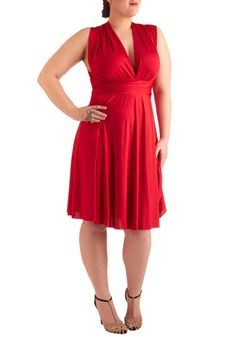 I love this-Sweet as Mandy Dress in Plus Size..but my boobs would fall out of it without a cami.