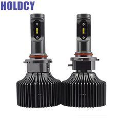 HoldCY HB3 9005 LED Headlight Bulb 60W 8400LM Car LED Headights DRL Fog Light Automobile LED Head Lamp Bulb Pure White 6000K