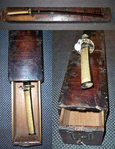 Antique Edo period samurai katana tansu. samuraiantiqueworld.com