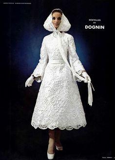 1969 wedding dress by CARVEN