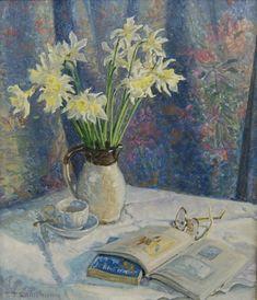 Stephen Darbishire 1940 | British Interiors and Landscape painter Repinned By Ellery Adams www.elleryadamsmysteries.com