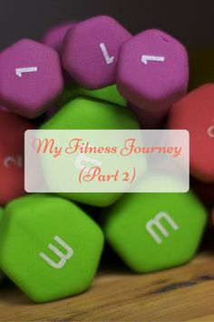Here is the second part of my Fitness Journey!