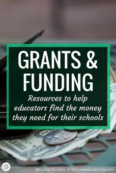 school resources available grants elementary schools