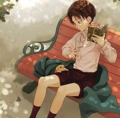 Levi as a child! Sooo adorable