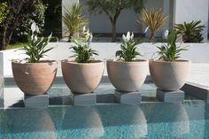Macetas de barro encantadoras: Agua, un poco de arcilla y verdaderas manos artesanas.  #jardinesmodernos #natural #followme