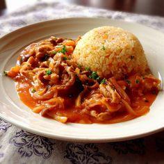 洋食屋さんの人気メニュー♩ポークケチャップの簡単レシピ15選