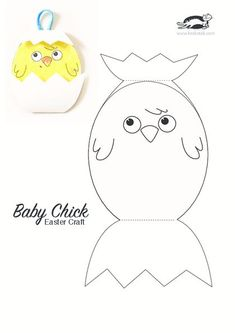 The chick pattern activities worksheet, the effectiveness of the patterns . Easter Projects, Easter Crafts For Kids, Bunny Crafts, Art Projects, Easter Activities, Preschool Activities, Preschool Kindergarten, Family Activities, Spring Crafts