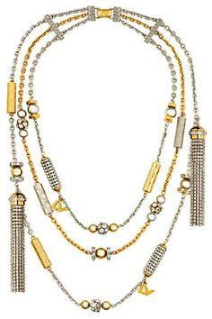 Louis Vuitton Resort 2013 Necklace
