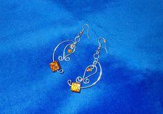 earrings handmade ręcznie robione kolczyki DIY