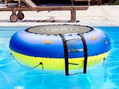 infactory 4in1 Trampolin für Wasser und Garten