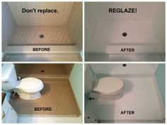 Can Reglaze Pink Bathroom Reglazing Remodel Everything - Can you reglaze bathroom floor tile
