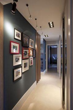 New apartment interior design hall Ideas Apartment Interior Design, Home Office Design, House Design, Interior Architecture, Interior And Exterior, Cool Apartments, Hallway Decorating, Decorating Ideas, Sweet Home