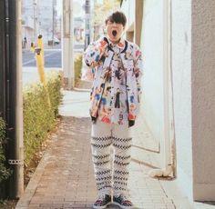 神山智洋 Tie Dye, Blouse, Collection, Tops, Women, Fashion, Moda, Fashion Styles, Blouses