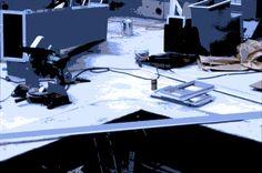 working plan 2003 C-print, plexiglas 20×15cm