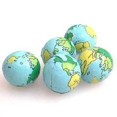Chocolate Globes - 5 lb. (individual wedding favors! 1 lb. = approx. 80 globes so we'd have plenty!)