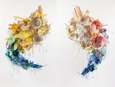 Artist Aurora Robson Transforms Discarded Plastic into Beautif...