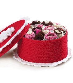 Crochet Box of Chocolates free patterns Joann fabric