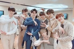gravity with other artist at Fantagio, 💞 Ong Seung Woo, Sanha, I Love You All, Golden Child, Seong, Btob, Tv Videos, Actors, Shit Happens